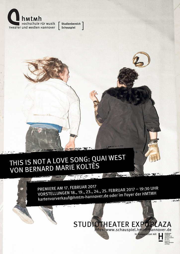 """This Is Not A Love Song: Quai West"" Plakat"